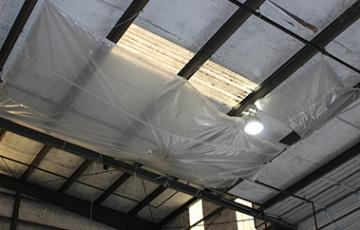 Water Diverter Tarps
