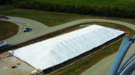 Griffolyn Grain Covers - Reusable Grain Tarps